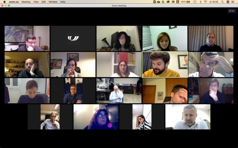 Imatge de la darrera reunió del Consell Director (Font. @UFECcat)