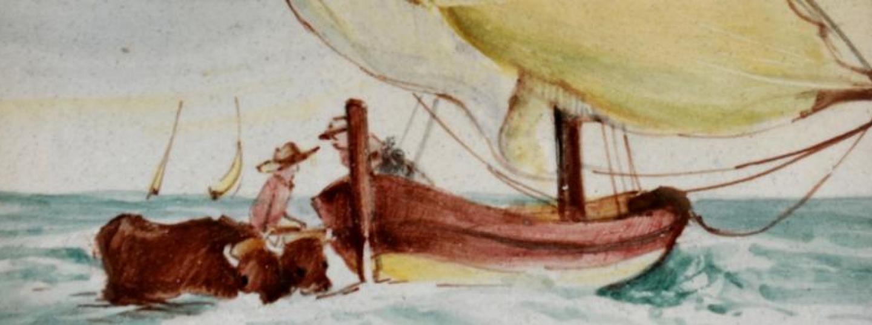 Reproducció pintura barca marinera