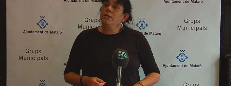 Carme Polvillo, regidora de la CUP