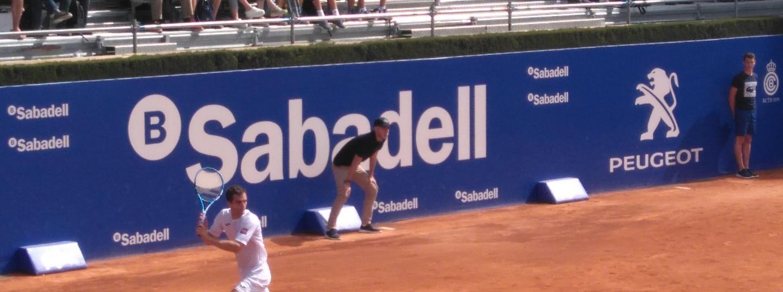 Albert Ramos passa als vuitens de final (Fotografia de Anna Freixa @esportsenxarxa)