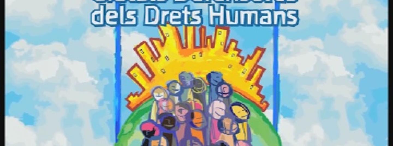 Cartell Ciutats Defensores dels Drets Humans
