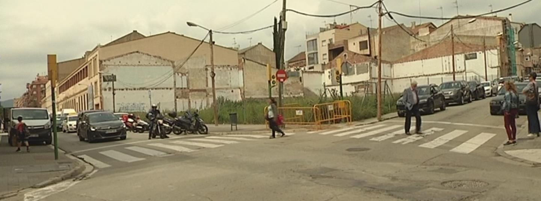 Cruïlla del carrer Biada i Tetuan