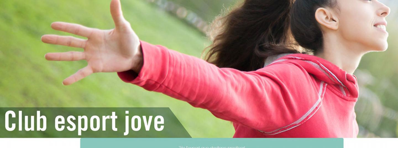 L'espai web del club esport jove de l'Ajuntament de Mataró