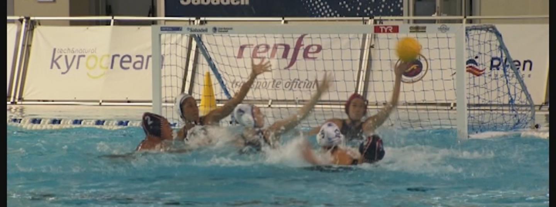 Un dels 5 gols marcatS per Helena Lloret (CN Mataró) Imatge RFEN