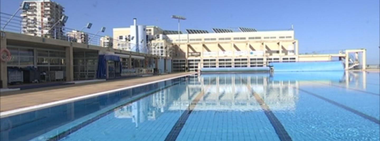 Centre de Natació Mataró outdoor pool