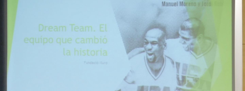 Jordi Robirosa i Manuel Moreno han escrit el primer llibre sobre el Dream Team des de Catalunya