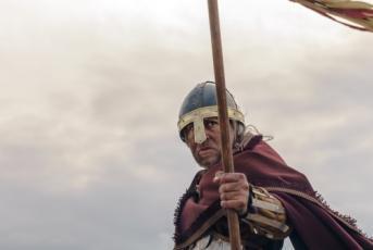 Foto d'un soldat de l'edat mitjana