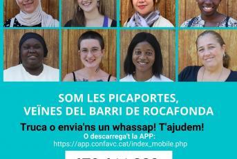 Imatge de la campanya de la Confederació d'Associacions Veïnals de Catalunya