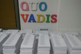 Paperetes en un col·legi electoral a Mataró