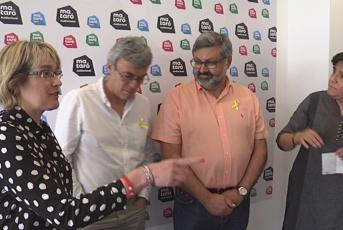 Montse Morón, Francesc Teixidó, Joaquim Fernàndez i Carme Polvillo