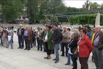 Concentració en suport de l'escola catalana