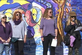 Manifestació Teixit de Dones