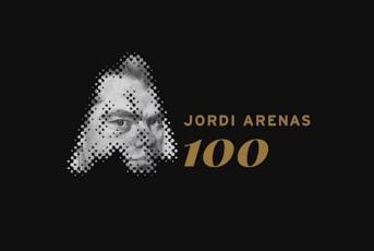 Imatge del la celebració dels 100 anys de Jordi Arenas