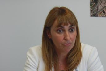 Núria Moreno, regidora d'urbanisme i desenvolupament econòmic de Mataró