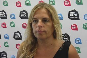 Anna Salicrú, presidenta d'ERC Mataró
