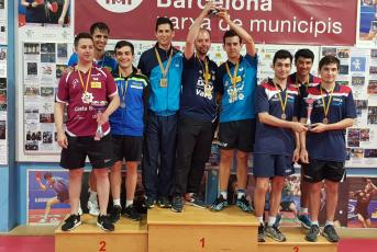Fotografia del pòdium final (Font: CN Mataró)